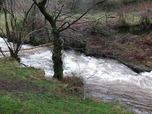 The Grwyne Fawr in spate
