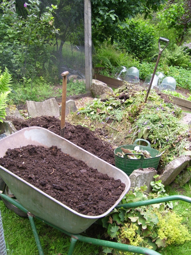home-made compost is essential