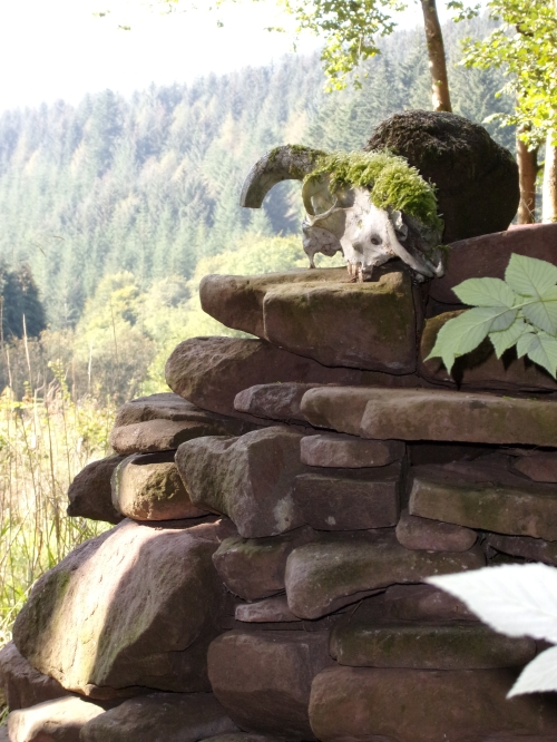 one of our cairns (no shortage of stone)