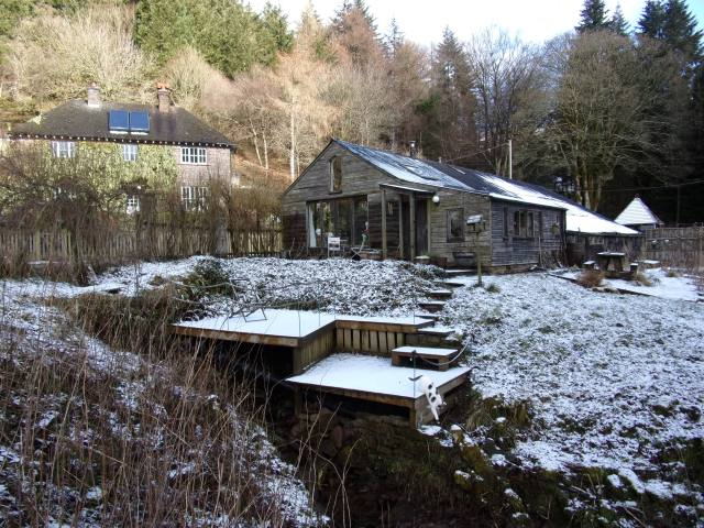 decking and garden room