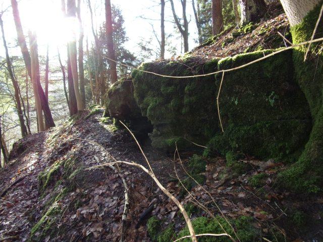 the 'bear's cave'