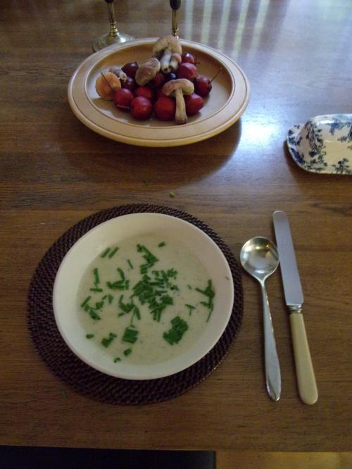 Yummy celery soup